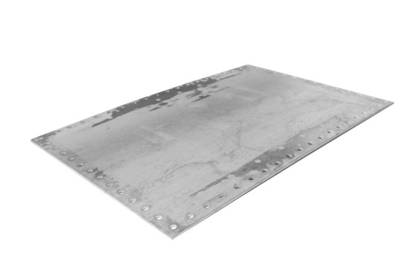 Rectangular Manway Cover, Steel 28X40