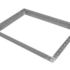 Rectangular Manway Frame, Steel 28X40