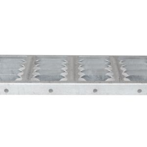 Formed Grating Top Step for Steel Stairways at SteelFront