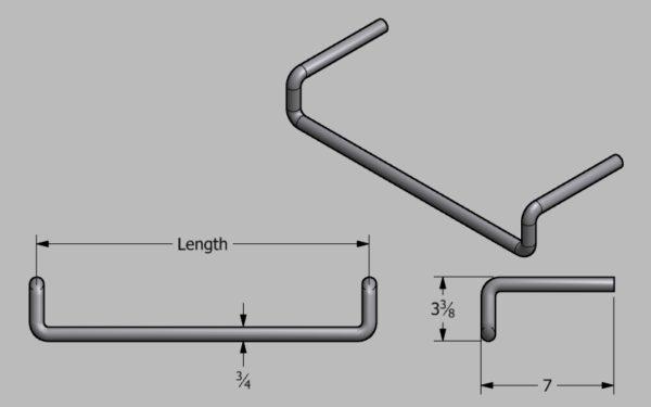 Steel Ladder Rung at SteelFront