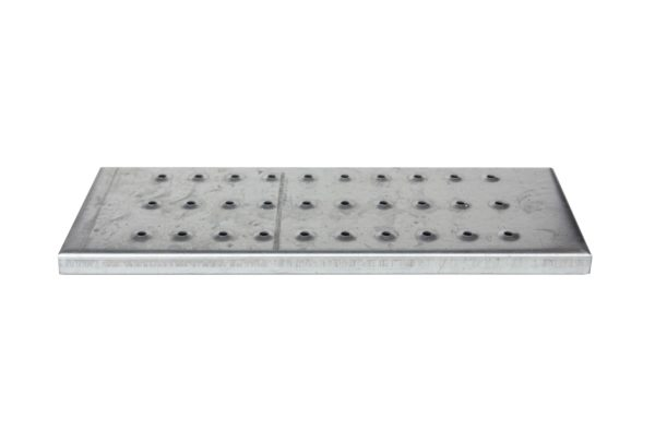 Perforated Step for Steel Stairway, Bolt-On