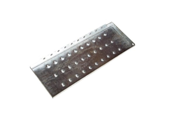 Perforated Top Step for Steel Stairway, Bolt-On