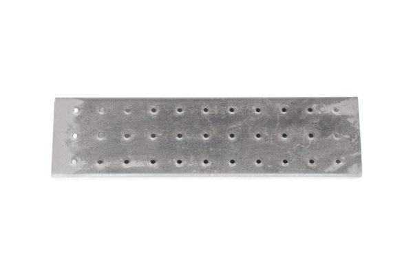 Perforated Standard Step for Steel Stairway, Weld-On