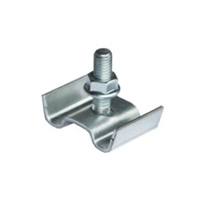Saddle Clip for Stairway Walkway and Catwalk Assemblies