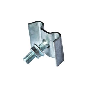 Saddle Clip for Bar Grating Stairway Walkway and Catwalk Assemblies